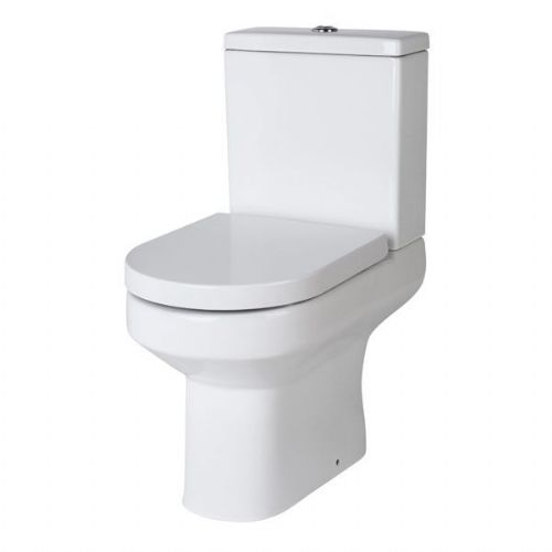 Kartell Ratio Comfort Height Close Couple Toilet - Cistern - Soft Close Seat